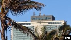 Foto de archivo del hotel Habana Libre.