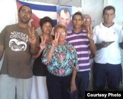 Vigilia y ayuno en Cabaiguán, Sancti Spiritus, en tercer aniversario de la muerte de Orlando Zapata Tamayo