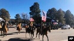 Electoral College Protests New Mexico