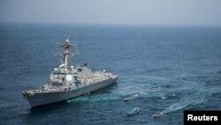 El destructor de la Marina de Guerra de Estados Unidos USS Jason Dunham. Foto Archivo Navy/Handout via REUTERS