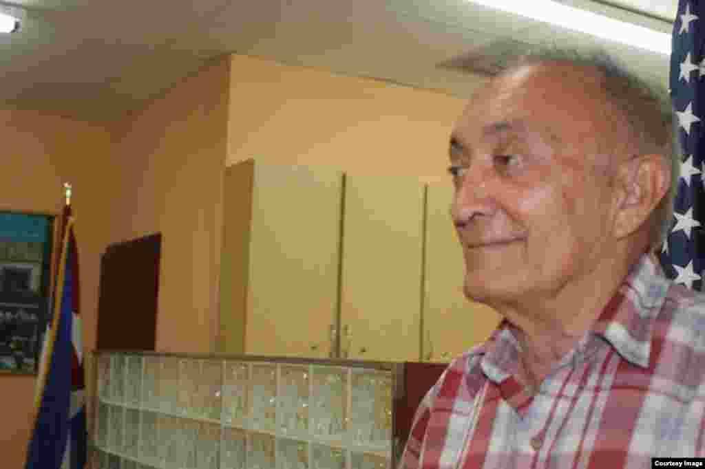 Ex-preso político Joaquín Boronat, con casi dos décadas en las cárceles cubanas.