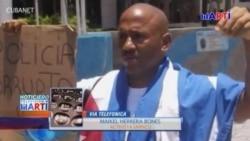 Activista pacífico cubano es arrestado en La Habana por protestar