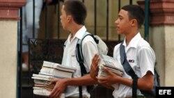 Según el artículo, el 80 por ciento de las plazas en las carreras pedagógicas quedaron vacantes.