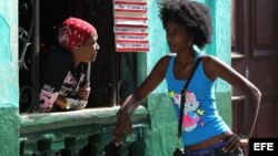 Mujeres cubanas en el sector privado