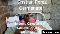 Cristian Pérez Carmenate.