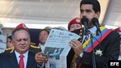 Confrontación y amenazas de Maduro en aniversario del nacimiento de Bolívar