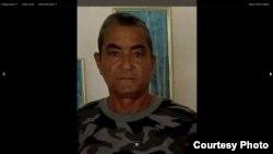 Oscar Cervantes González, opositor de 63 años de edad, sancionado a 10 meses de cárcel en ciengo de Avila.