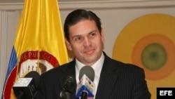 El ministro colombiano de Defensa, Juan Carlos Pinzón.