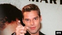 El cantante puertorriqueño Ricky Martin. EFE/SILVIA BERNARDOS
