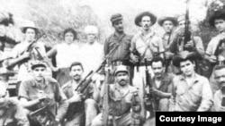 Luchadores anticastristas del Escambray.