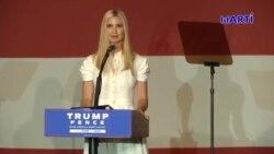 "Ivanka Trump: ""América nunca será un país socialista"""