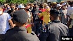 Levantamiento popular en Cuba. REUTERS/Stringer