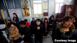 Imagen de una iglesia en China.