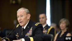 El general Martin Dempsey, jefe del Estado Mayor Conjunto.