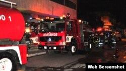 Autoridades investigan causas de incendio en antiguo hospital habanero La Benéfica
