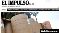 El diario venezolano El Impulso anuncia a sus lectores que tendrán papel para la próxima semana.