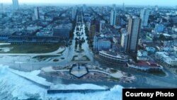 El Toque vuela un drone sobre La Habana