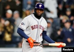 Yordán Álvarez de los Astros de Houston. Noah K. Murray-USA TODAY Sports vía Reuters