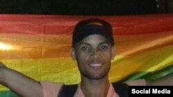 Raúl Soublett, galardonado por un podcast hecho en Cuba. (Imagen de Twitter).