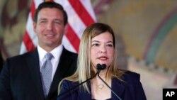 La jueza Barbara Lagoa.