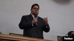 Edgar Zambrano, primer vicepresidente de la Asamblea Nacional de Venezuela