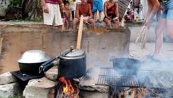Cubanos con el temor de tener que volver a cocinar con leña