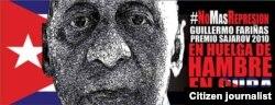 NoMásRepresión: Gullermo Fariñas, Premio Sajarov 2010 en huelga de hambre en Cuba