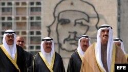 Delegación kuwaití de visita en La Habana en el 2010