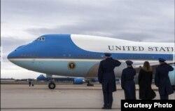 La Base Andrews es el hogar del aviónm presidencial Air Force One