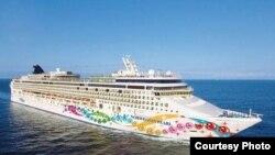 El crucero Norwegian Pearl