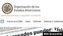 Comisión Interamericana de Derechos Humanos (CIDH).