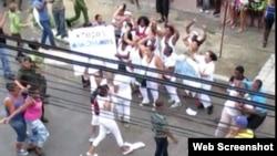 Damas represión domingo 5 de junio