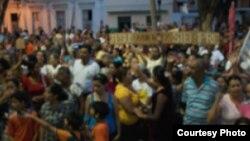 Religiosos y líderes de oposición se reúnen en Bayamo
