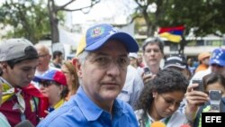 Alcalde mayor de Caracas, Antonio Ledezma.