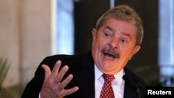 El ex presidente de Brasil Luiz Inacio Lula da Silva.