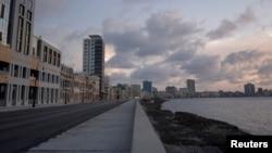 Vista de La Habana durante la pandemia.REUTERS/Alexandre Meneghini/Pool