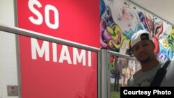 Hermanos Gourrriel desembarcan en Miami. Fotos: SwingCompleto.