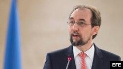 El Alto Comisionado para los Derechos Humanos, Zeid Ra'ad Al Husein.