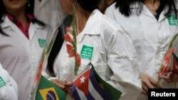 Médicos cubanos en Brasil. REUTERS/Fernando Medina