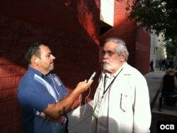 Orlando Rossardi en entrevista con Radio Martí
