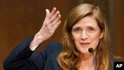 Samantha Power directora de USAID. Foto Archivo Greg Nash/Pool via AP