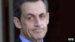 El expresidente conservador Nicolas Sarkozy.