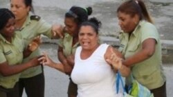 5 damas de Blanco en cárceles cubanas