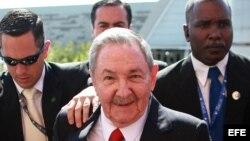 Raúl Castro en la Cumbre de la Comunidad de Estados Latinoamericanos y Caribeños (Celac), en Santiago de Chile.