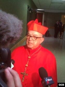 cardenal Raymundo Damasceno Assis de Aparecida, Brasil. Foto cortesía de José Luis Ramos.