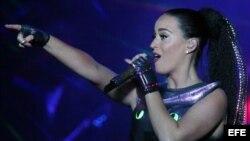 Archivo: Katy Perry, concierto en Chile