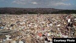 """"""" Desechos tóxicos, animales muertos... en cualquier otro país levantarían en peso al alcalde por este vertedero"""", Juan González Febles, director, Primavera Digital"""