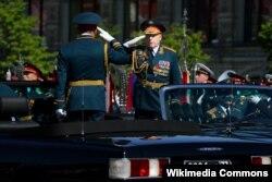Oleg L. Salyukov, subdirector de la Guardia Nacional de Rusia.