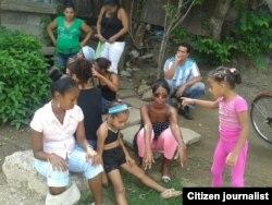 Así celebraron en un barrio de Guantánamo el Dia de la Infancia foto Abel López