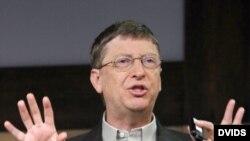 Bill Gates, presidente de Microsoft Corp.